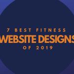 7 Best Fitness Website Designs 2019